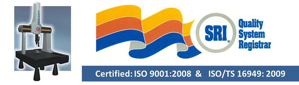 Defiance Stamping ISO-TS Certification slide