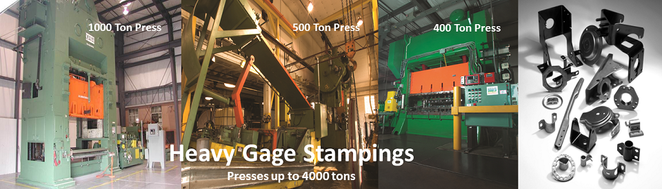 Defiance Stamping Presses up to 4000 tons